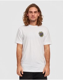 Santa Cruz - Ringed Dot Checker Tee