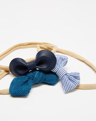 ArchNOllie Alaska Headbands - Hair Accessories (Blue)