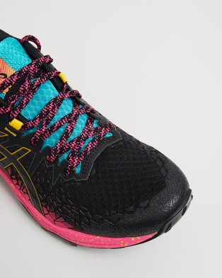 ASICS FUJITRABUCO Lyte   Women's - Training (Black & Pink Glo)