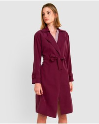 Forcast - Everleigh Trench Coat