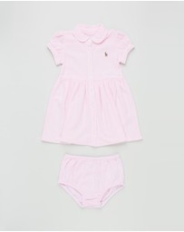 Polo Ralph Lauren - Stripe Oxford Mesh Dress - Babies