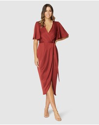 Pilgrim - Melina Midi Dress