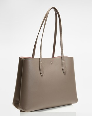 Kate Spade All Day Large Tote - Handbags (Mineral Grey)