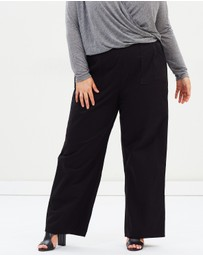 Atmos&Here Curvy - ICONIC EXCLUSIVE - Tara Utility Pants