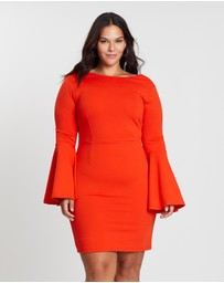 Atmos&Here Curvy - Zoe Cowl Back Mini Dress