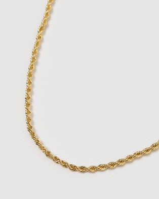 Arms Of Eve Maison Gold Necklace - Jewellery (Gold)