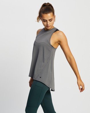 Lilybod Kendall Tank - Muscle Tops (Charcoal)