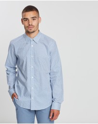 Ben Sherman - LS Retro Geo Shirt