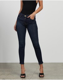Frame Denim - Le High Skinny Crop Jeans