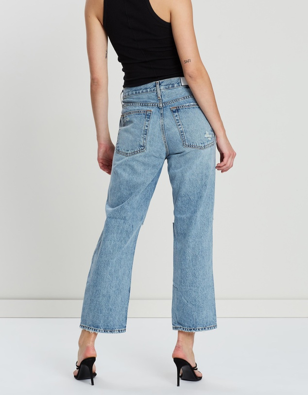 RE/DONE - Low Slung Crop Jeans