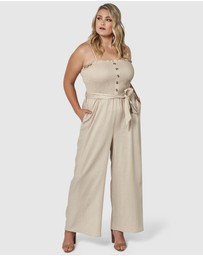 Something 4 Olivia - Abbey Linen Jumpsuit