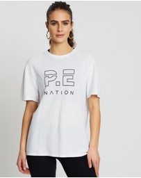 P.E Nation - Heads Up High Twist Tee