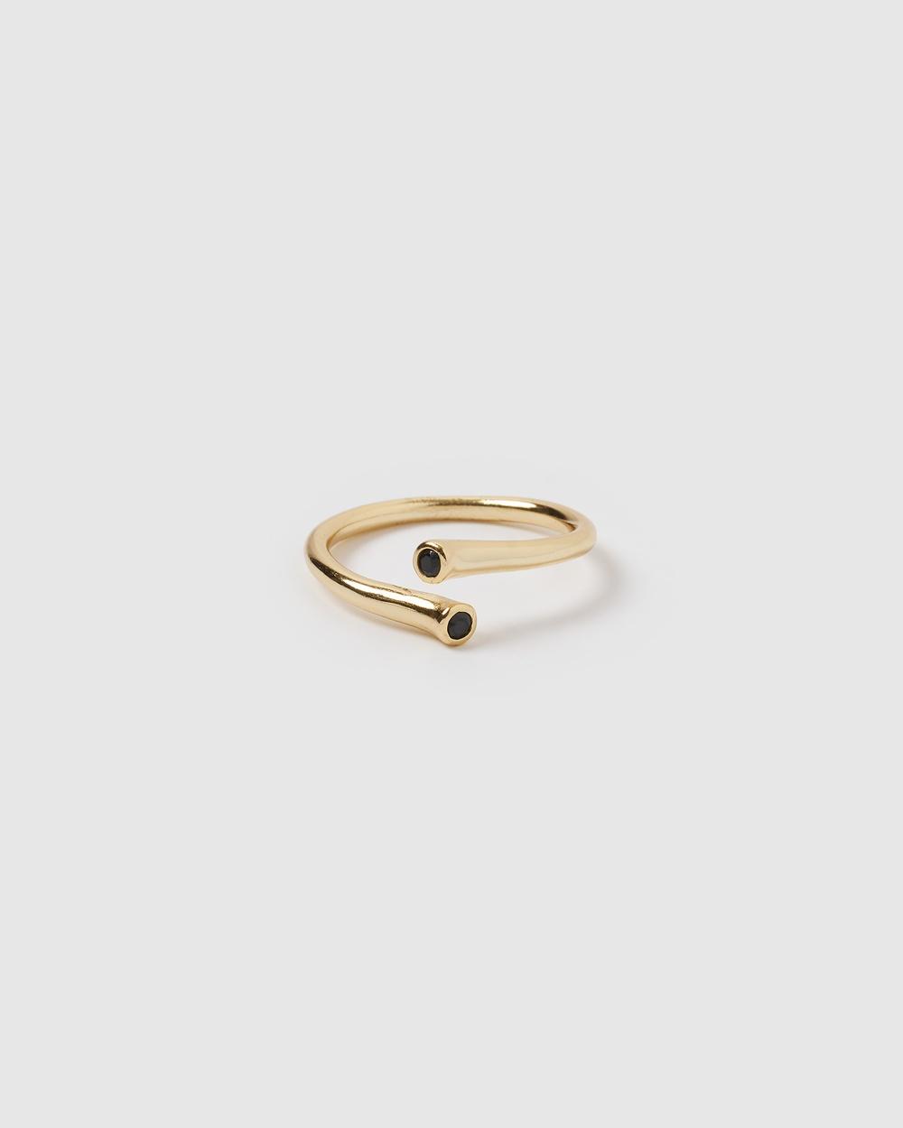 Izoa Devine Ring Jewellery Gold
