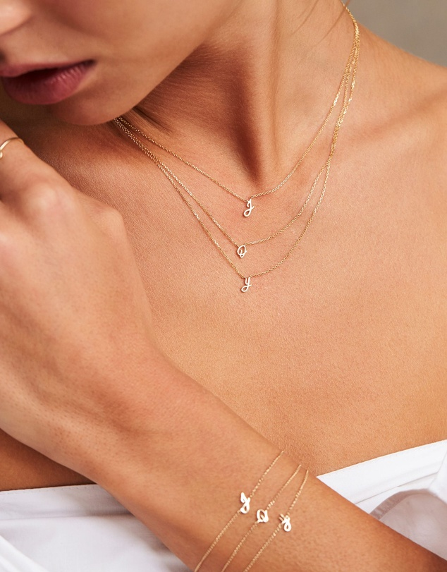 Women Love Letter 'O' Necklace