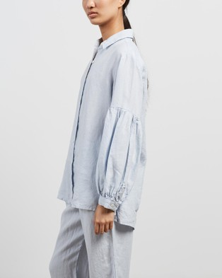 Des Sen Corbusier Shirt - Tops (Light Blue)