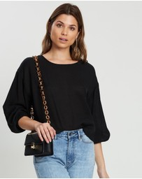 Atmos&Here - Drop Shoulder Boxy Top