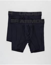 Under Armour - Tech 6in 2-Pack Boxer Briefs