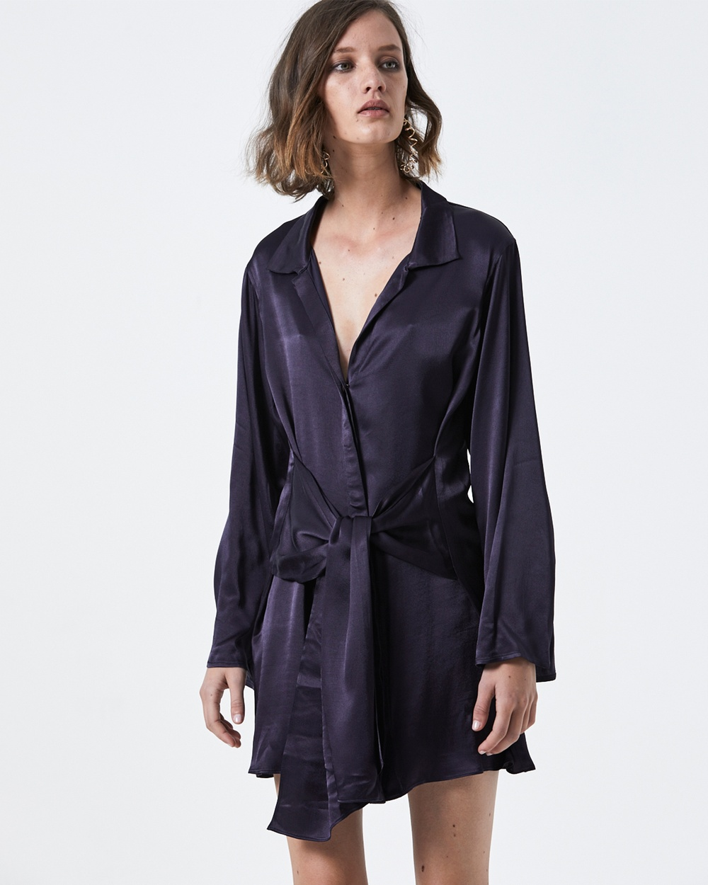 Carver Estee Shirtdress Dresses Navy Estee Shirtdress