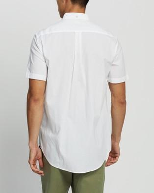 Gant The Broadcloth Regular SS Shirt - Casual shirts (White)