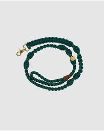 Sebastian Says - Macramé Originals Dog Lead