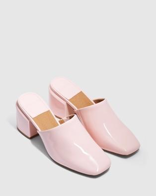 cherrichella Saxon Mules - Heels (Pink)