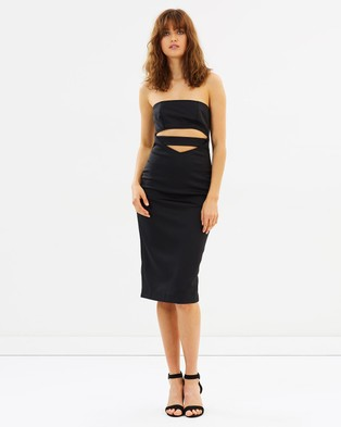 Buy Maurie & Eve - Why So Serious Dress - Bodycon Dresses Black -  shop Maurie & Eve dresses online