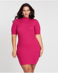 Atmos&Here Curvy - Knit Skivi Dress