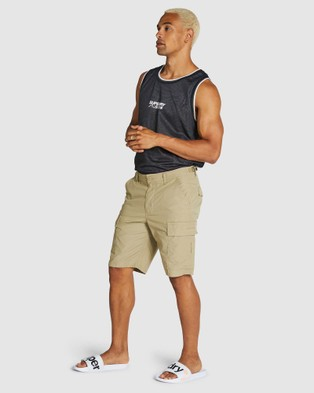 Superdry Field Cargo Short  - Shorts (Army Sand)