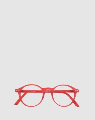 IZIPIZI Reading Collection D - Optical (Red)