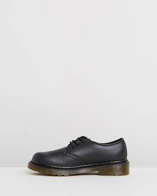 Dr Martens Junior 1461 Softy T   Kids Teens - Dress Shoes (Black)