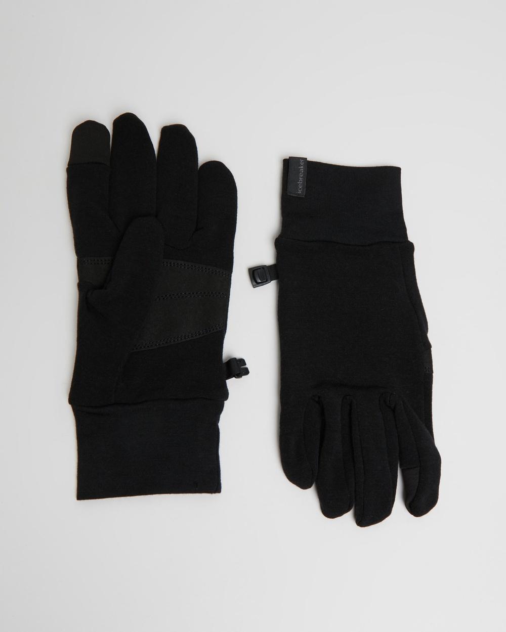 Icebreaker Sierra Gloves Outdoor Black