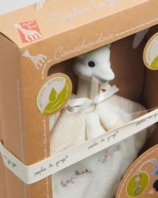 Sophie the Giraffe - Teething Comforter   Babies - All toys (Sophie) Teething Comforter - Babies