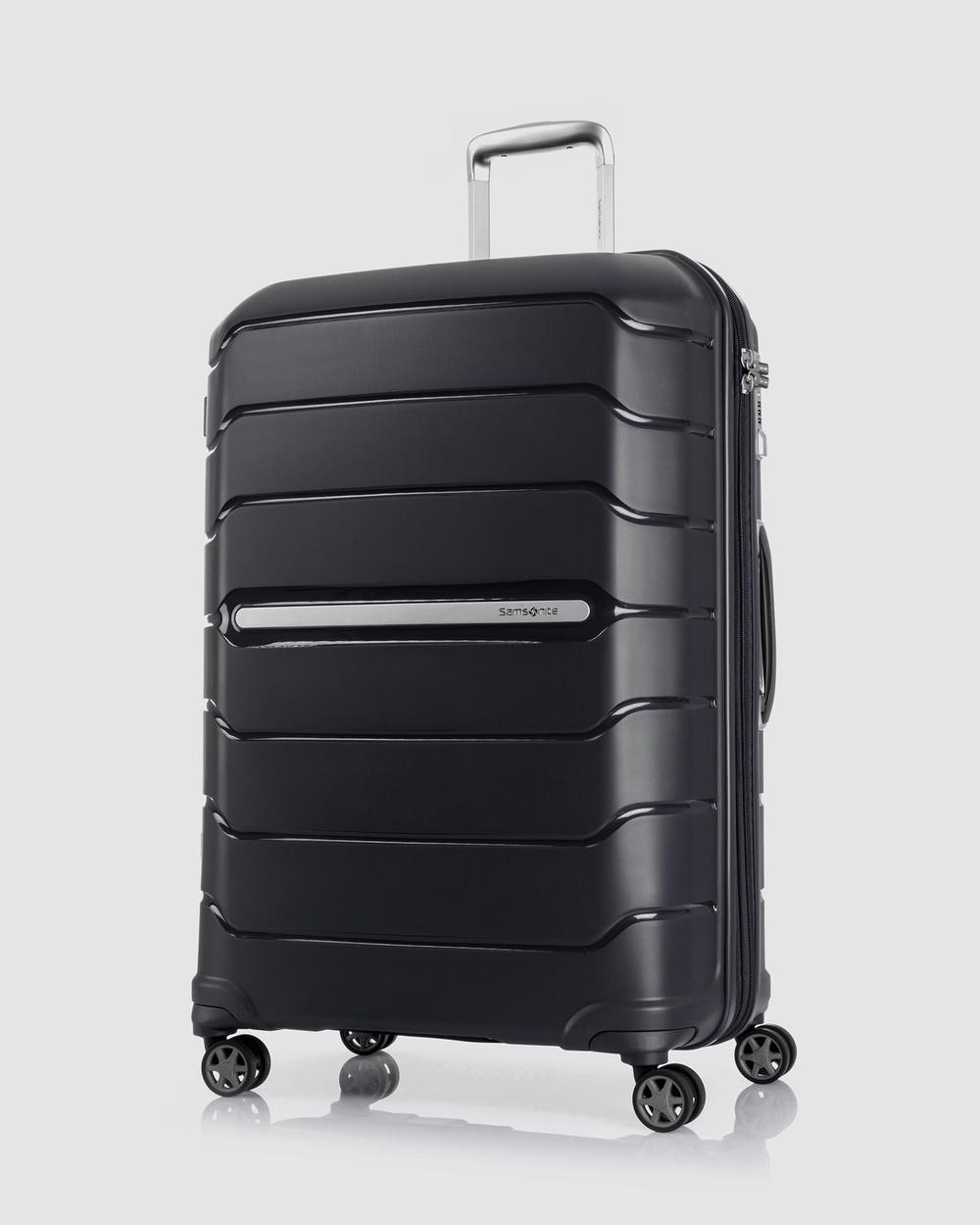 Samsonite Oc2Lite 75cm Spinner Suitcase Travel and Luggage Black