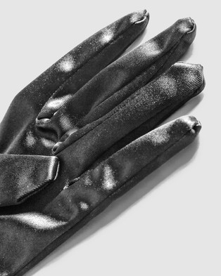 Ann Summers Satin Gloves - Scarves & Gloves (Black)