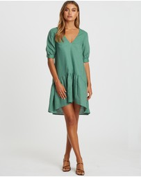 Willa - Aston Linen Blend Dress