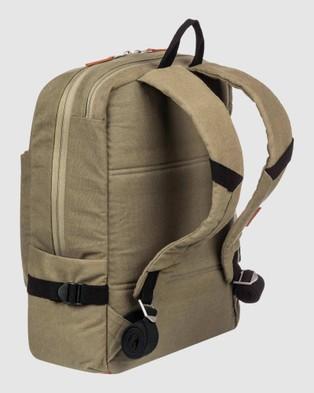 Quiksilver Cool Coast 25L Medium Backpack - Backpacks (Burnt Olive)