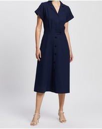 David Lawrence - Wrap Shirt Dress