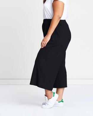 Atmos&Here Curvy Puerto Rico Culottes - Pants (Black)