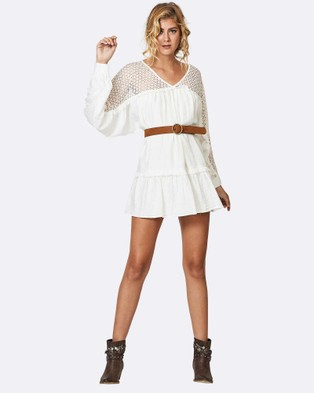 Times Ten – Apparition Dress – Dresses (White)