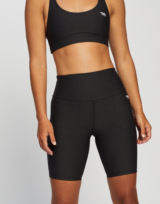 Running Bare - Ab Werk It! Bike Tights