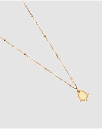 Pastiche Savannah Necklace Yellow Gold