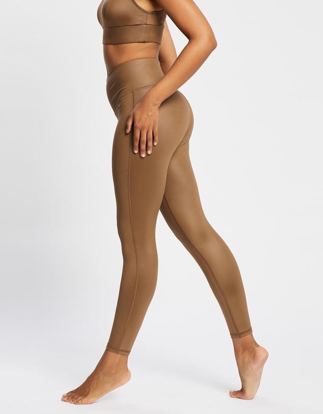 Women Instinct Gloss Leggings