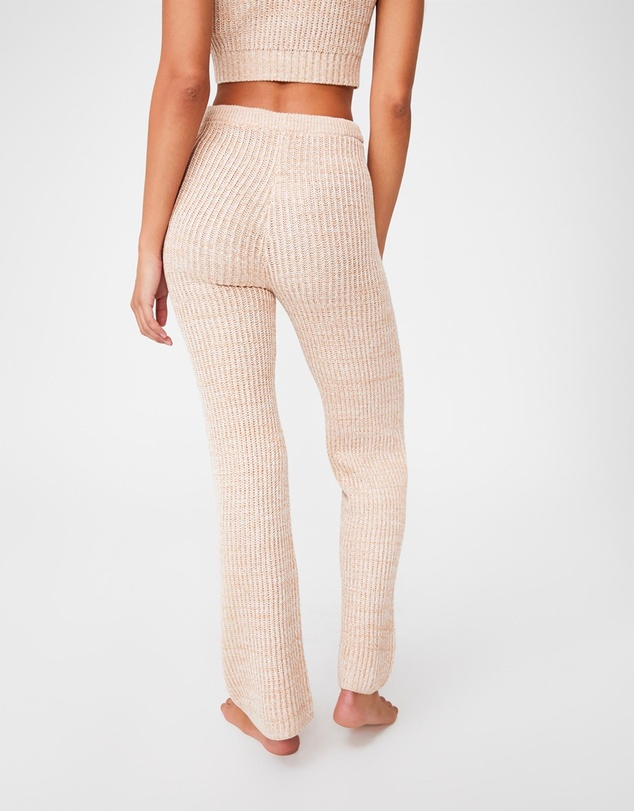 Women Organic Cotton Knit Lounge Pants