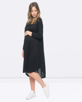 BAE the Label – Sweet Disposition Dress – Dresses (Black)