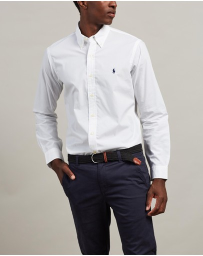 Polo Ralph Lauren - Solid Cotton Poplin Shirt