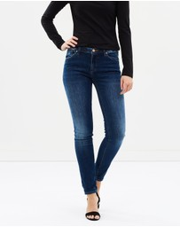 Armani Jeans - Orchid Tasche Skinny Jeans