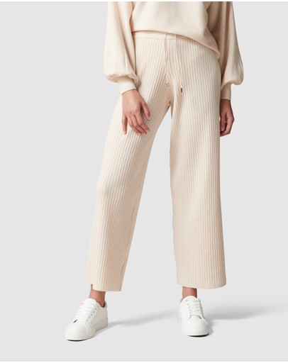 Forever New - Lara Loungewear Wide Leg Knit Pant