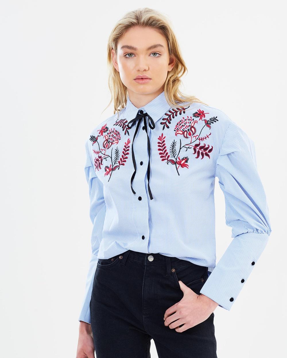 M.N.G West Shirt Tops Celeste West Shirt