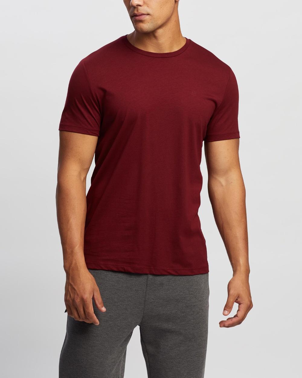Calvin Klein - Liquid Touch Tee - T-Shirts & Singlets (Allure) Liquid Touch Tee