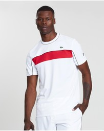 Lacoste - Novak Djokovic Chest Stripe Tee